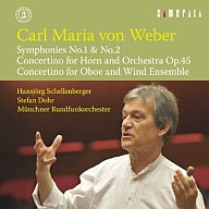 シェレンベルガー / ウェーバー:交響曲 第1番、第2番