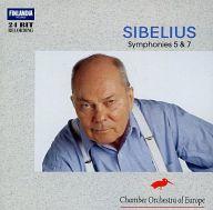 パーヴォ・ベルグルンド(指揮) ヨーロッパ室内管弦楽団 / シベリウス:交響曲第5、7番