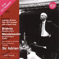 エイドリアン・ボールト / ブラームス:交響曲第4番
