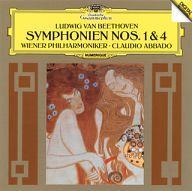 クラウディオ・アバド / ベートーヴェン:交響曲第1番&第4番