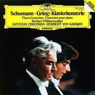 ヘルベルト・フォン・カラヤン指揮 ベルリン・フィルハーモニー管弦楽団 / シューマン グリーグ:ピアノ協奏曲イ短調