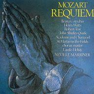 ネヴィル・マリナー指揮 アカデミー室内管弦楽団、合唱団 / モーツァルト:レクイエム