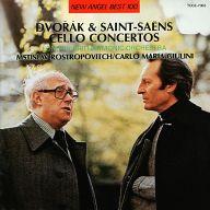 カルロ・マリア・ジュリーニ(指揮) ムスティスラフ・ロストロポーヴィッチ(チェロ) / ドヴォルザーク&サン=サーンス:チェロ協奏曲