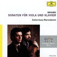 ピンカス・ズーカーマン(ヴィオラ&ヴァイオリン) ダニエル・バレンボイム(ピアノ) / ブラームス:ヴィオラ・ソナタ第1番&第2番 他