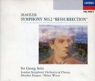 サー・ゲオルグ・ショルティー(指揮) ロンドン交響楽団 他 / マーラー:交響曲第2番「復活」