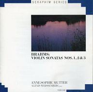 アンネ=ゾフィー・ムター(ヴァイオリン) アレクシス・ワイセンベルク(ピアノ) / SERAPHIM SERIES ブラームス:ヴァイオリン・ソナタ(全3曲)