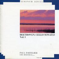 ポール・トルトゥリエ 他 / SERAPHIM SERIES ベートーヴェン:チェロ・ソナタ全集 第1集