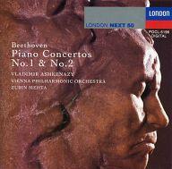 ヴラディーミル・アシュケナージ ズービン・メータ指揮 ウィーン・フィルハーモニー管弦楽団 / ベートーヴェン:ピアノ協奏曲第1番・第2番
