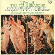 カール・ミュンヒンガー指揮 シュトゥットガルト室内管弦楽団 他 / ヴィヴァルディ:四季 他