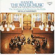 ネヴィル・マリナー指揮 アカデミー室内管弦楽団 / ヘンデル:組曲「王宮の花火の音楽」「水上の音楽」
