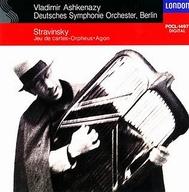 ヴラディーミル・アシュケナージ(指揮) ベルリン・ドイツ交響楽団 / ストラヴィンスキー:「カルタ遊び」「アゴン」「オルフェウス」