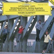 ハーゲン弦楽四重奏団 / ルトスワフスキ:弦楽四重奏曲、リゲティ:弦楽四重奏曲 第1番 他