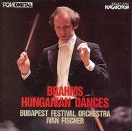 イヴァン・フィッシャー(指揮) ブダペスト祝祭管弦楽団 / ブラームス:ハンガリー舞曲(全曲)