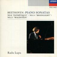 ラドゥ・ルプー(ピアノ) / ベートーヴェン:悲愴 月光 ワルトシュタイン[限定盤]