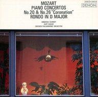 ランクB)アンネローゼ・シュミット(ピアノ) クルト・マズア(指揮) ドレスデン・フィルハーモニー管弦楽団 / モーツァルト:ピアノ協奏曲第20番・第26番「戴冠式」
