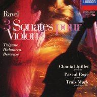 ランクB)シャンタル・ジュイエ(ヴァイオリン) パスカル・ロジェ(ピアノ) トゥルース・モーク(チェロ) / ラヴェル:ヴァイオリンとピアノのための作品全集