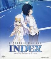 不備有)A CERTAIN MAGICAL INDEX SEASON ONE BD+DVD COMBO PACK [輸入盤](状態:スリーブ欠品、DISCケースに破損有り)