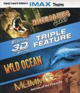 3D Triple Feature 「DINOSAURS Alive!」「WILD OCEAN」「MUMMIES」[輸入盤]