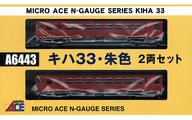 1/150 キハ33 朱色 2両セット [A6443]