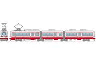1/150 筑豊電気鉄道 2000形2007号(赤) 「鉄道コレクション」 [289142]