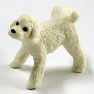 トイプードル(ホワイト) 「マーキング犬2」
