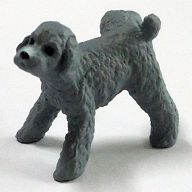 トイプードル(シルバー) 「マーキング犬2」