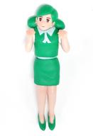 フチ子(緑) 「コップのフチ子 レインボー」 コップのフチ子展限定