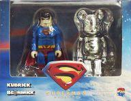 KUBRICK SUPERMAN & BE@RBRICK MAN OF STEEL セット 「スーパーマン・リターンズ」