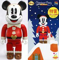 [箱欠品] BE@RBRIC-ベアブリック- 400% ミッキーマウス サンタver. 「Happyくじ ディズニー Christmas Party BE@RBRIC」 特賞