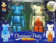 [箱欠品] BE@RBRIC-ベアブリック- 38.シンデレラ パールボディVer.&白雪姫 パールボディVer. 「Happyくじ ディズニー Christmas Party BE@RBRIC」 ペアボックス賞