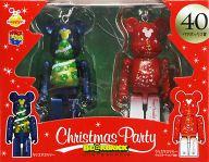 [箱欠品] BE@RBRIC-ベアブリック- 40.クリスマスツリー&クリスマスツリー イルミネーションVer. 「Happyくじ ディズニー Christmas Party BE@RBRIC」 ペアボックス賞