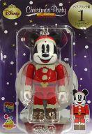 [箱欠品] BE@RBRIC-ベアブリック- 01.ミッキーマウス サンタVer. 「Happyくじ ディズニー Christmas Party BE@RBRIC」 ベアブリック賞