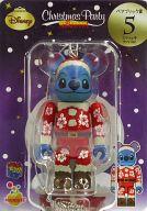 [箱欠品] BE@RBRIC-ベアブリック- 05.スティッチ サンタVer. 「Happyくじ ディズニー Christmas Party BE@RBRIC」 ベアブリック賞