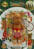 [箱欠品] BE@RBRIC-ベアブリック- 10.ミッキーマウス ジンジャークッキーVer. 「Happyくじ ディズニー Christmas Party BE@RBRIC」 ベアブリック賞