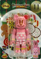[箱欠品] BE@RBRIC-ベアブリック- 11.ミニーマウス ジンジャークッキーVer. 「Happyくじ ディズニー Christmas Party BE@RBRIC」 ベアブリック賞