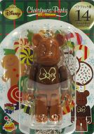 [箱欠品] BE@RBRIC-ベアブリック- 14.ドナルドダック ミルクチョコVer. 「Happyくじ ディズニー Christmas Party BE@RBRIC」 ベアブリック賞