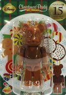[箱欠品] BE@RBRIC-ベアブリック- 15.デイジーダック ミルクチョコVer. 「Happyくじ ディズニー Christmas Party BE@RBRIC」 ベアブリック賞