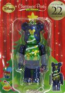 [箱欠品] BE@RBRIC-ベアブリック- 22.クリスマスツリー 「Happyくじ ディズニー Christmas Party BE@RBRIC」 ベアブリック賞