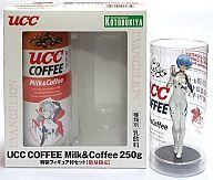 [ランクB] 綾波レイ UCC COFFEE Milk&Coffee 250g 特製フィギュア付セット (Blu-Ray&DVD発売記念)「エヴァンゲリヲン 新劇場版:破」