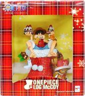 [ランクB] モンキー・D・ルフィ&トニートニー・チョッパー ジャンプフェスタ2012限定版 「ワンピース」 LOG McCOY ONE PIECE01 塗装済み完成品