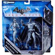 [ランクB] バットマン(X7412)&キャットウーマン(X7413) グレーカラーVer. 「バットマン:アーカム・シティ」 バットマン レガシー 2PK 6インチフィギュア