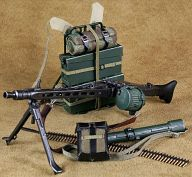 1/6 WWII MG42 マシンガンセット