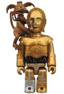 KUBRICK C-3PO with SALACIOUS CRUMB -C-3PO&サレシャス・クラム- 「スター・ウォーズ」 キューブリックNo.355 MEDICOM TOY EXHIBITION 2013 開催記念