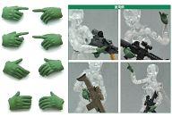 LittleArmory-OP02:figma専用タクティカルグローブ「フォリッジグリーン」 (1/12スケール ATBC-PVCランナーキット)