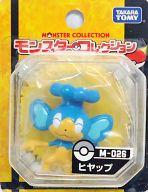 ヒヤップ 「ポケットモンスター ベストウイッシュ」 モンスターコレクション M-026