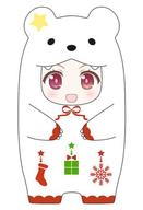 ねんどろいどもあ きぐるみフェイスパーツケース しろくまクリスマスVer.
