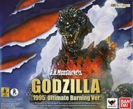 [エフェクト欠品] S.H.MonsterArts ゴジラ(1995) Ultimate Burning Ver. 「ゴジラVSデストロイア」 魂ウェブ商店限定