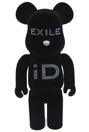 BE@RBRIC-ベアブリック- EXILE iD(ブラック) 400% EXILE iD SHOP限定