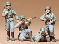 1/35 ドイツ歩兵セット 「ミリタリーミニチュアシリーズ No.2」 [35002]