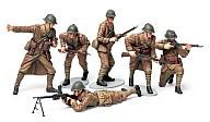 1/35 MM フランス歩兵セット 「ミリタリーミニチュア」
